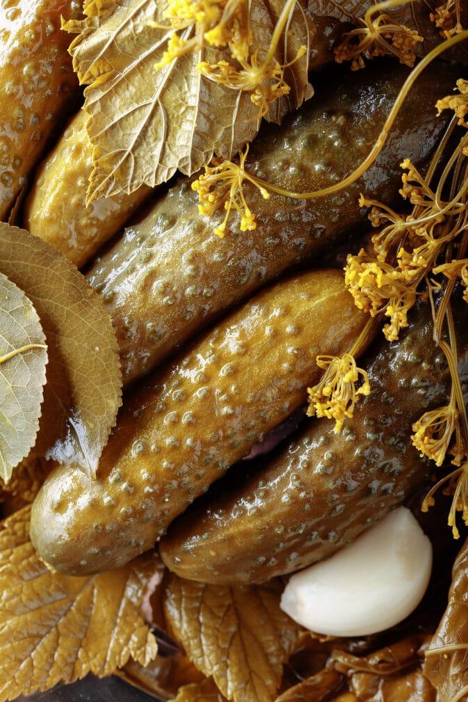 Фото рецепта - Консервированные ароматные огурцы - шаг 5
