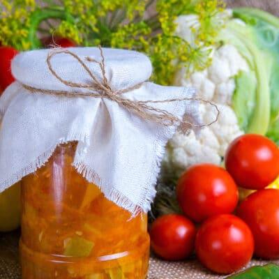 Лечо из кабачков и помидоров