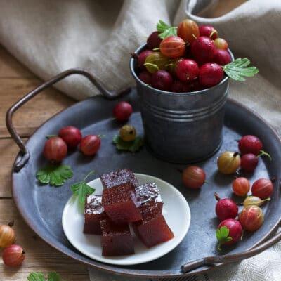 Мармелад из ягод крыжовника