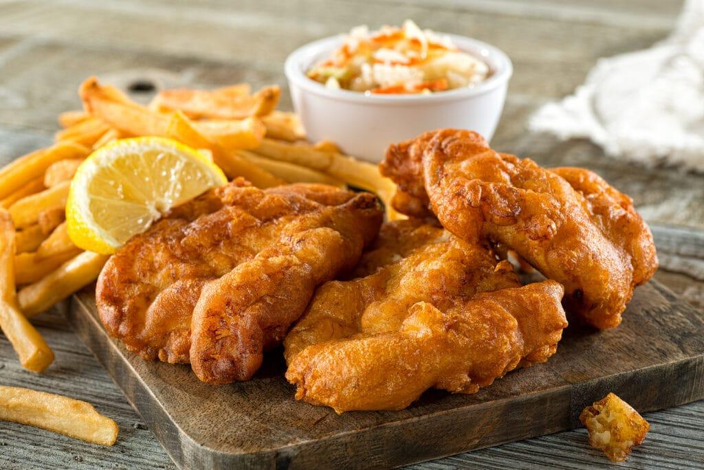 Фото рецепта - Рыба в кляре (минтай) - шаг 6