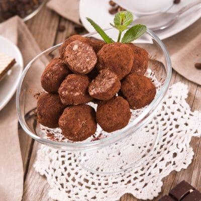 Трюфель (шоколадные домашние конфеты)