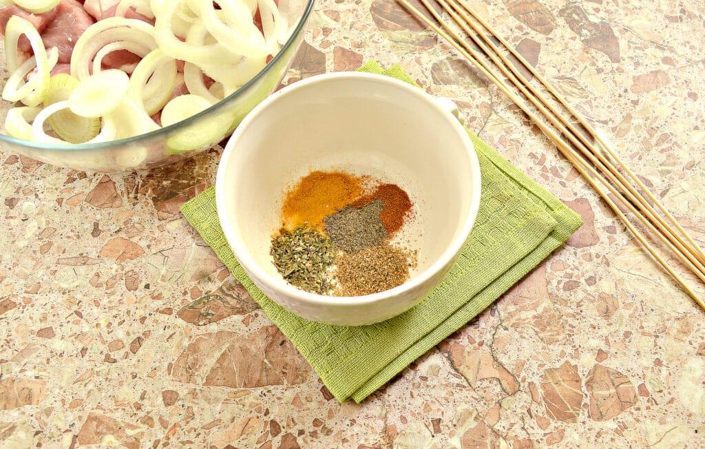 Фото рецепта - Маринад для шашлыка из свинины в духовке - шаг 1