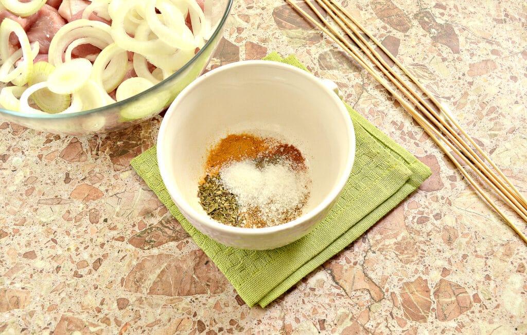 Фото рецепта - Маринад для шашлыка из свинины в духовке - шаг 2