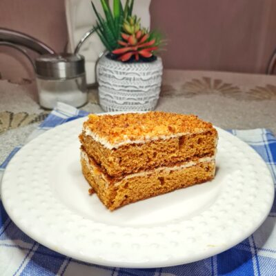 Торт «Медовик» без раскатки коржей - рецепт с фото