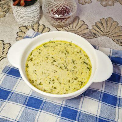 Сливочный суп с грибами - рецепт с фото