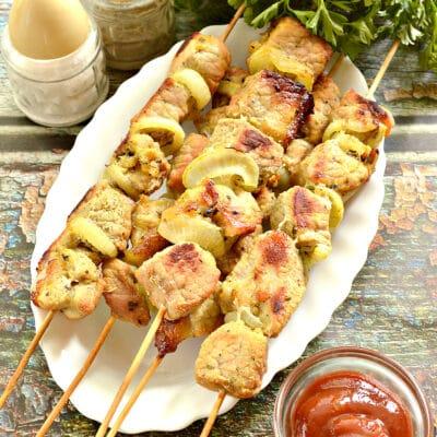 Маринад для шашлыка из свинины в духовке - рецепт с фото