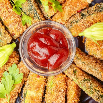 Жареные палочки из кабачков - рецепт с фото