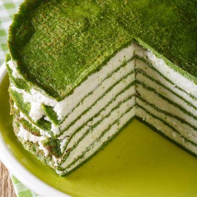 Блинный торт с творожным сыром - рецепт с фото
