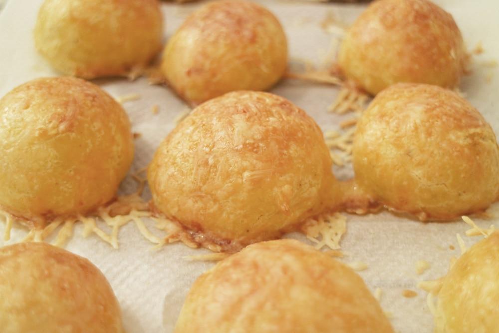 Фото рецепта - Гужеры — сырные булочки - шаг 6