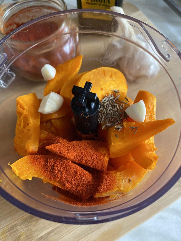 Фото рецепта - Закуска из тыквы - шаг 6
