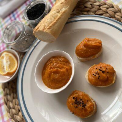 Закуска из тыквы - рецепт с фото