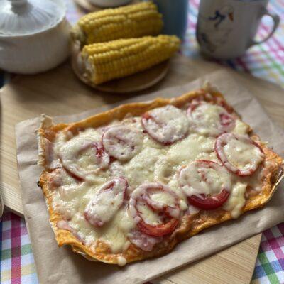 Пицца в лаваше за 15 минут - рецепт с фото