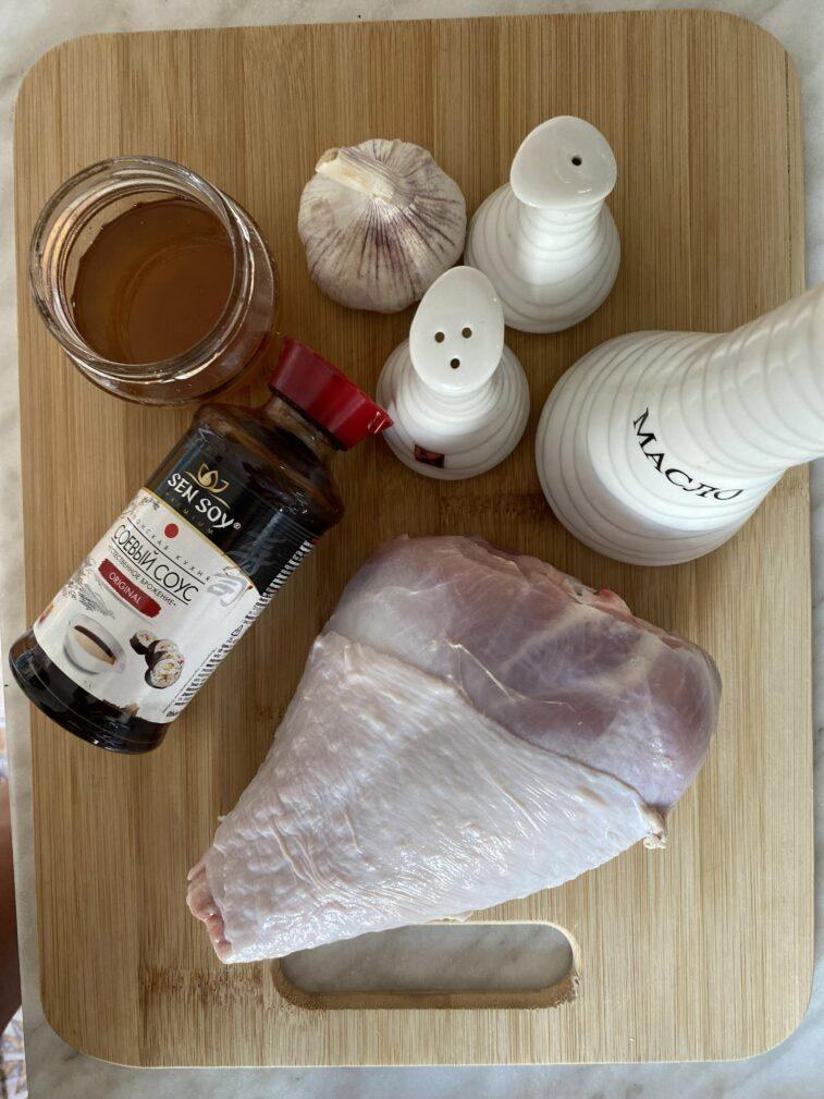 Фото рецепта - Голень индейки запеченная - шаг 1