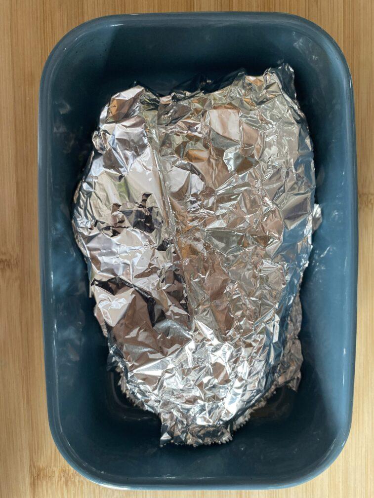 Фото рецепта - Голень индейки запеченная - шаг 5