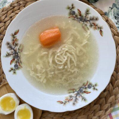 Яичная лапша - рецепт с фото