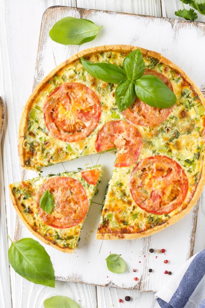 Фото рецепта - Киш с овощами - шаг 5