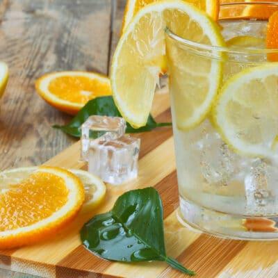 Лимонад из цитрусов