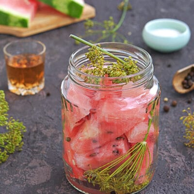 Маринованный арбуз - рецепт с фото