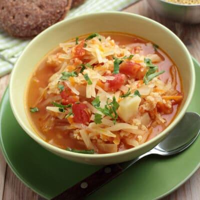 Польский суп капустняк