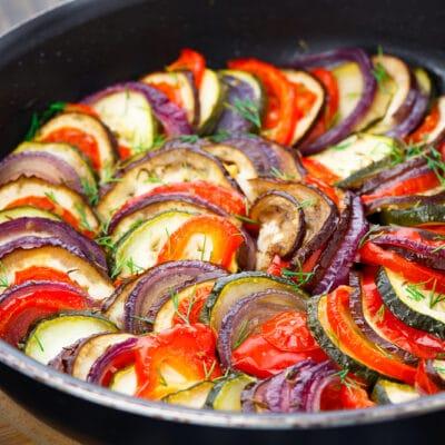 Рататуй в соусе - рецепт с фото