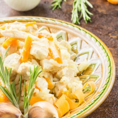 Рис с мясом, морковью и карри