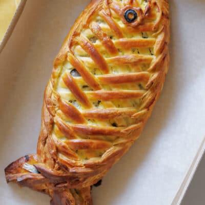 Рыбный пирог кулебяка