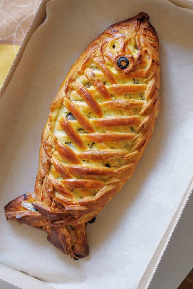 Рыбный пирог (кулебяка)