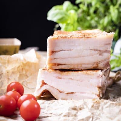 Соленое сало - рецепт с фото