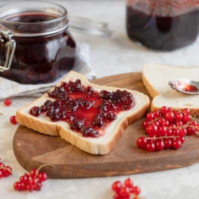Варенье из красной смородины - рецепт с фото