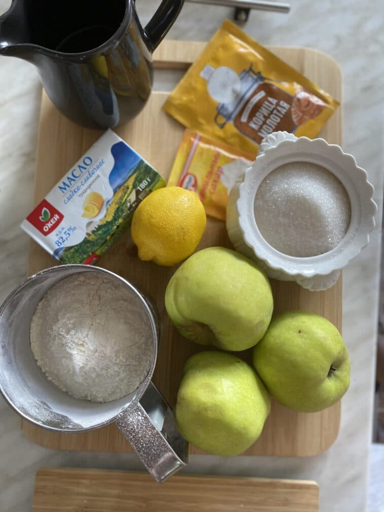 Фото рецепта - Галета с яблоками - шаг 1