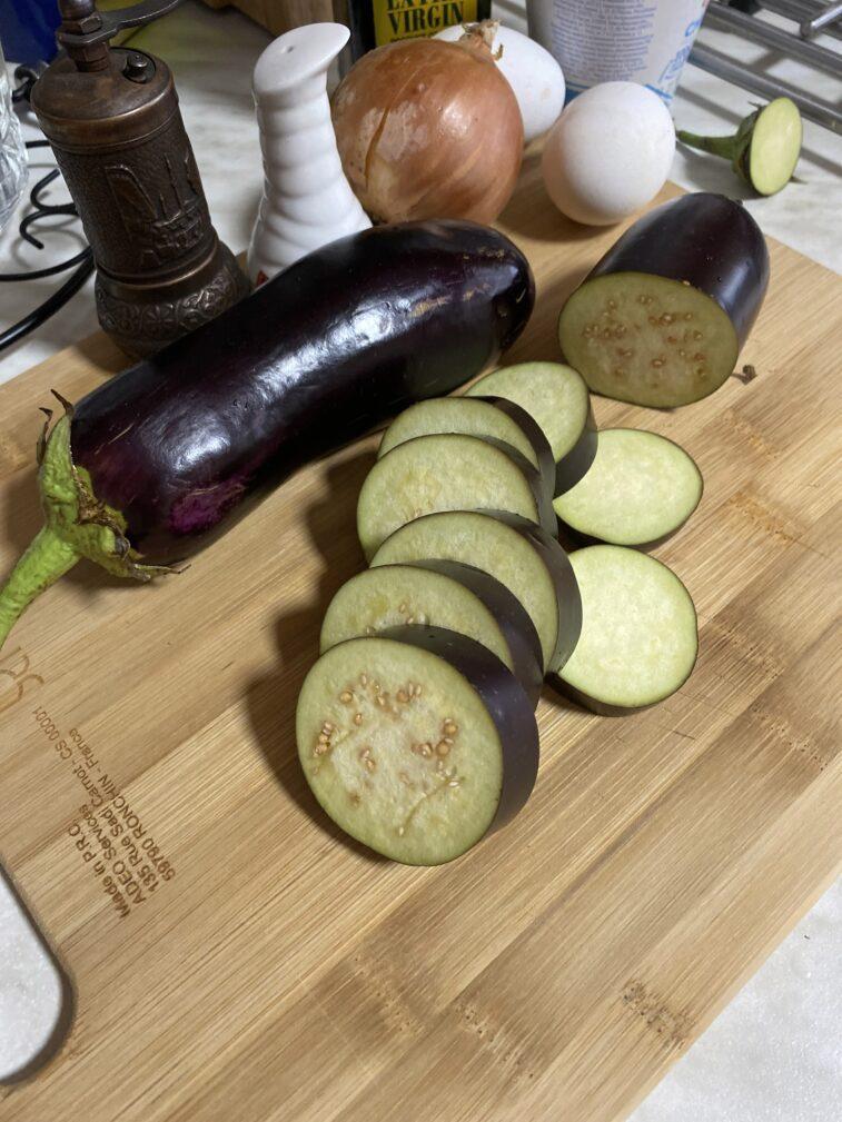 Фото рецепта - Грибочки из баклажанов - шаг 2