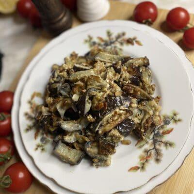 Грибочки из баклажанов - рецепт с фото