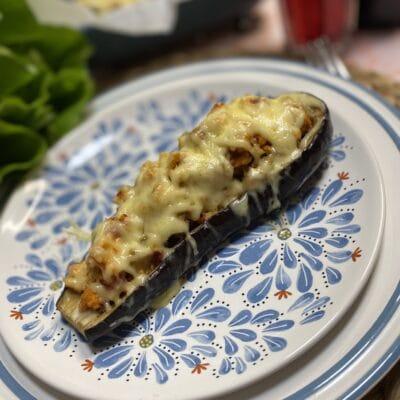 Баклажаны, фаршированные мясом - рецепт с фото