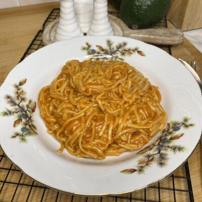 Быстрая паста с томатами - рецепт с фото