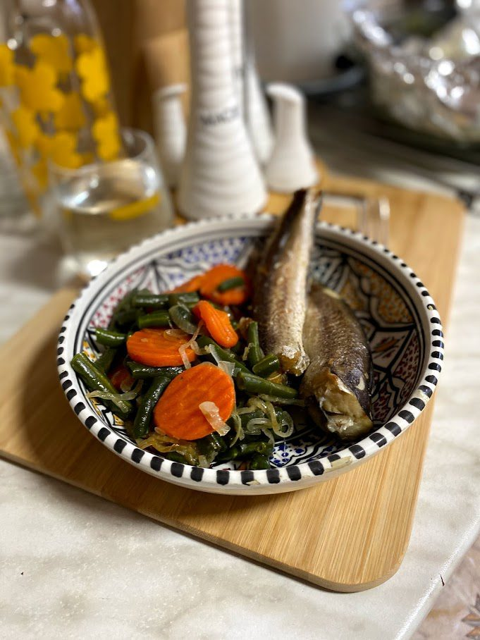 Фото рецепта - Хек с овощами - шаг 12