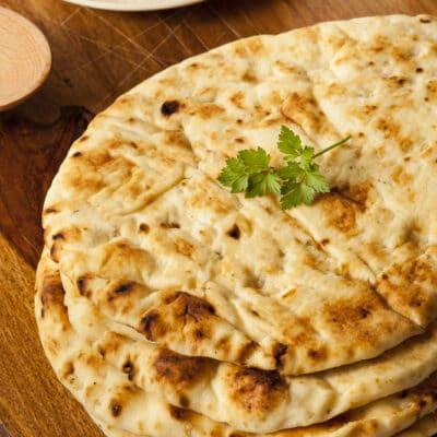 Индийские лепешки на сковороде