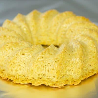 Кугель из лапши и яиц - рецепт с фото