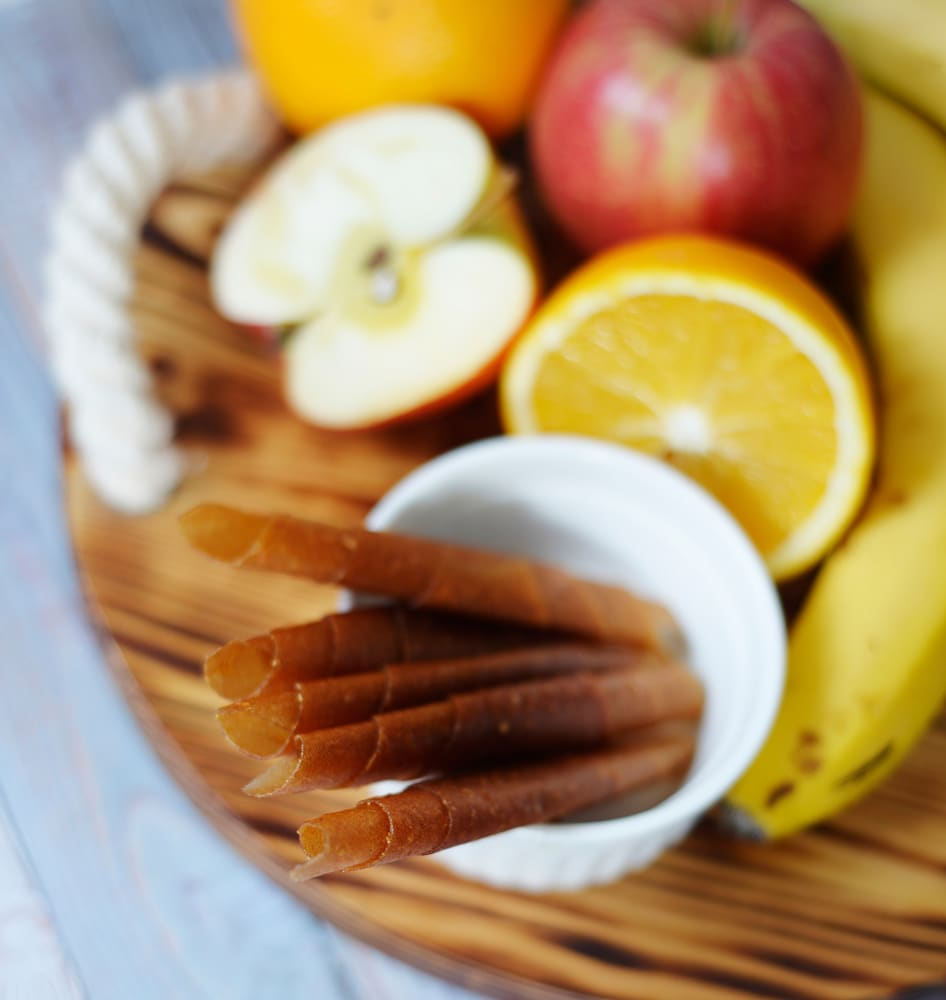 Пастила из бананов с яблоками и апельсинами