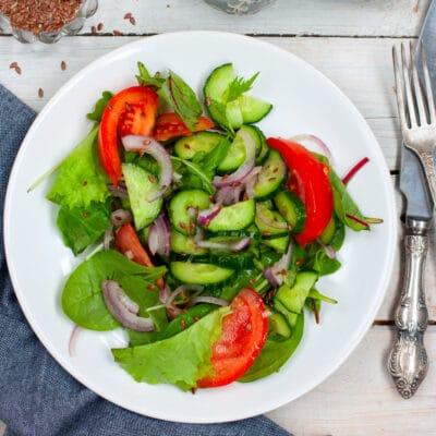 Салат из овощей - рецепт с фото