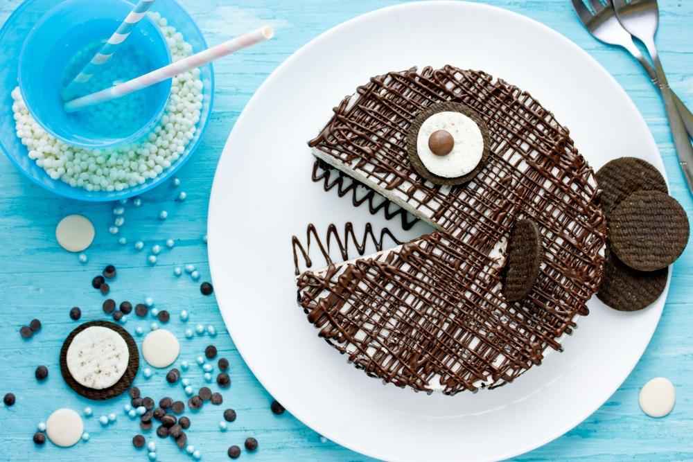 Фото рецепта - Торт-мороженое на основе печенья Орео - шаг 5