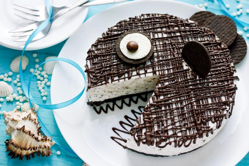 Торт-мороженое на основе печенья Орео