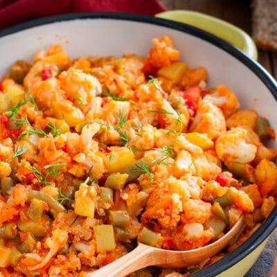 Тушеные овощи - рецепт с фото
