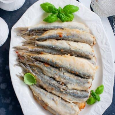 Жареная рыба (в муке) - рецепт с фото
