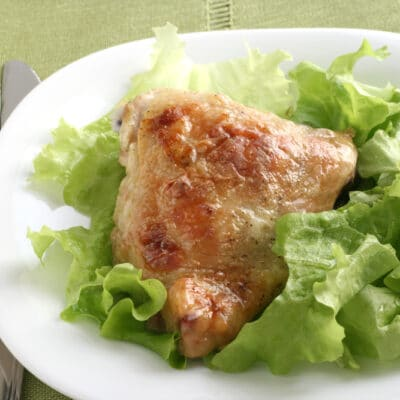 Жареные куриные бедрышки - рецепт с фото