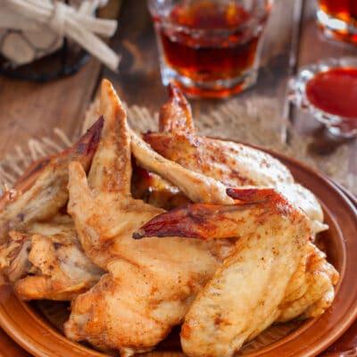 Крылышки запечённые в пакете (со специями и соевым соусом) - рецепт с фото