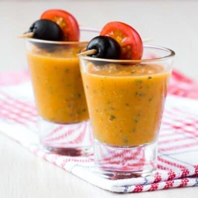 Овощной суп-закуска