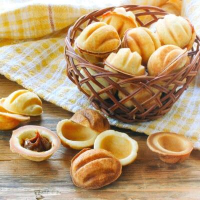 Рецепт - орешки со сгущенкой