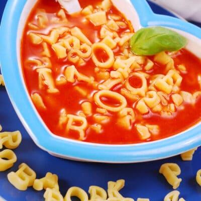 Томатный суп с макаронами - рецепт с фото