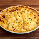 Картофельно-сырный гратен