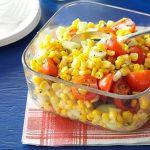 Мексиканский салат с огурцами и помидорами